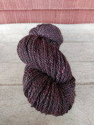 """Nightshade"" American Raised & Spun 60% Alpaca / 30% Merino Wool/ 10% Silk, 2 Ply Sport Weight, 200 Yds, 3.3oz 94g"