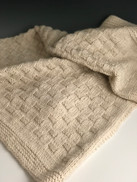 Shepherdess Baby Blanket by Laurie Kimmelstiel
