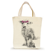 """Small tote with """"Clover"""""""