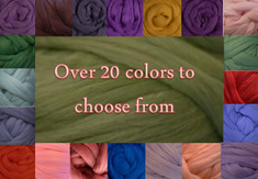 Colored Roving