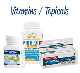 vitamins/topicals