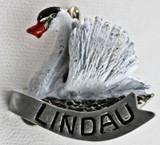 HP8478 Swan Hat Pin LINDAU
