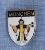 HP8538W München Crest Hat Pin
