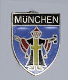 HP8538B München Crest Hat Pin