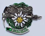 HP8487 Wreath, Edelweiss, Pick WüRZBURG