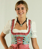 Nicole blouse worn under dirndl