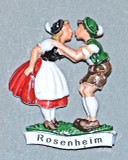 HPP8009 Kissing Couple ROSENHEIM
