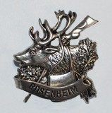 HP8498 Elk/Rifle Hat Pin ROSENHEIM