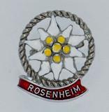 HP8323R Edelweiss Hat Pin ROSENHEIM