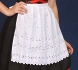 Martina Apron - White