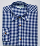 Blue checkered shirt (SH-238BIS)