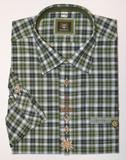 Olive Shirt w/design (SH-243)