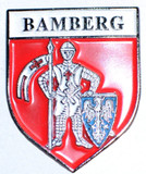 HP8505 BAMBERG Crest Hat Pin