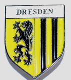 HP8508 DRESDEN Crest Hat Pin