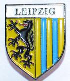 HP8515 LEIPZIG Crest Hat Pin