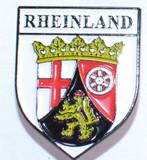 HP8517 RHEINLAND Crest Hat Pin