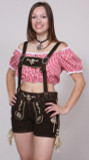 Ladies Goat Leather Lederhosen