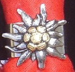 Edelweiss Tie Holder