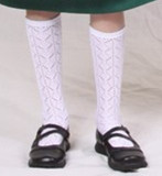 White Trachten Knee Socks (8-5C)