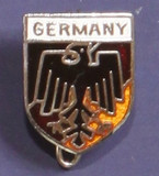 HP8550 Germany Crest Hat Pin