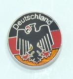 HP8602 Deutschland Circle Hat Pin