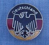 HP8524 Deutschland Circle Hat Pin