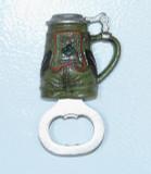 Bottle Opener Lederhosen Magnet  (MAG-BOT-LED)