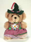 Girl Plush Teddy 6""