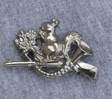 HP8216 Squirrel Hat Pin