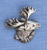 HP8421 Moose Hat Pin