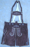 "Boys Brown Lederhosen ""Hansi"""