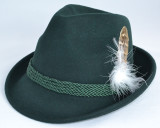 Childs Alpine Green Hat wool