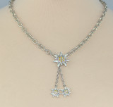 (JN108) Edelweiss necklace