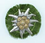 HP8445 Edelweiss w/Fringe Hat Pin