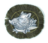 HP8442 Boar w/Fringe Hat Pin