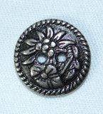 Button (BUT006) Alpine Flowers 5/8""