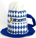 Souvenir Blue & White Mug Hat
