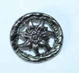 """Button (BUT010) Edelweiss large 1 3/8"""""""