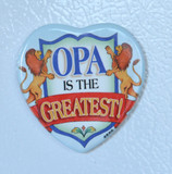 Magnet Opa is the Greatest Heart (MAG-OPAHEART)