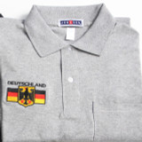 Polo Gray Deutschland - Embroidered