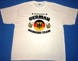 Official German Drinking Team T-Shirt