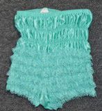 Girls Pettipants Nylon - Teal/Green -Size Large
