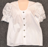 Tiffany White Long Blouse #65