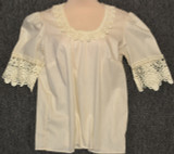 Cream Long Blouse #71