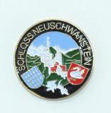 HP8241 Schloss Neuschwanstein Hat Pin