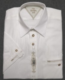 SHORT Sleeve Shirt White with design (SH224SS)