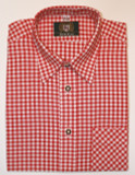 Red Checkered Shirt cotton (106R)