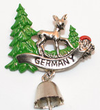 HP8448G Deer in Forest with bell GERMANY