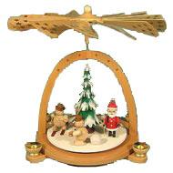German Christmas Pryamids