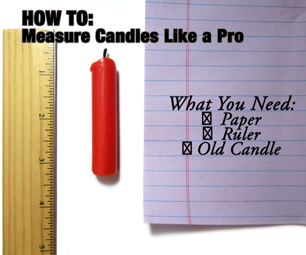 How to Measure German Candles